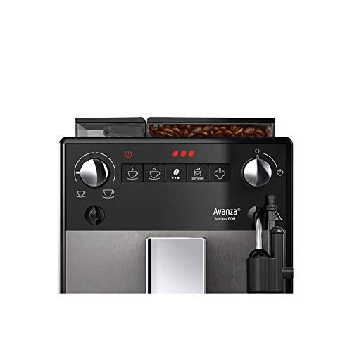 41Pj0x8qa7L. SS500  - Melitta Automatic Espresso Machine, Purista Model, F230-102, Black, 6766034