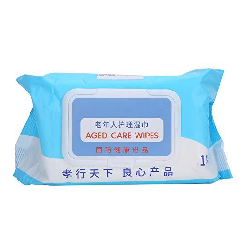 Toallitas húmedas suaves Particularmente compatibles y suaves con húmedas Embalaje para una limpieza refrescante y un cuidado suave de la cara, manos, cuello y brazos