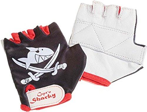 Captn Sharky Handschuhe Gr. 5 / 6 schw/rot