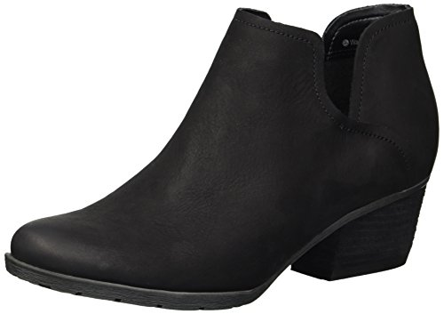 Blondo Women's Victoria Waterproof Ankle Boot, Black Nubuck, 9 M US