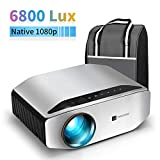 Native 1080p Projector - GooDee YG620 Newest LED Video Projector/ 6000Lux/ 300' Display/...