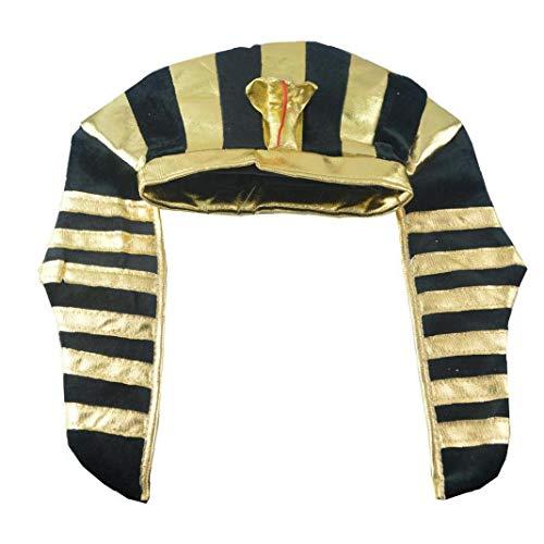 1pc ägyptischen Pharao Kostüme Hüte Kronenkorke Halloween-Party Erwachsene Kinder Kinder Hüte Kopfbedeckung Männer-Fantasie-Kostüm