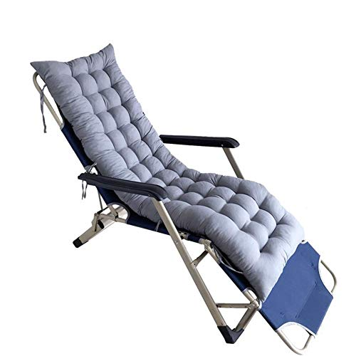 ACEMIC Cojín Relajante para Tumbona de jardín, colchoneta reclinable para Exteriores para Viajes de Vacaciones, Funda Antideslizante para Columpio de Chaise Longue, cojín de Asiento de Silla d