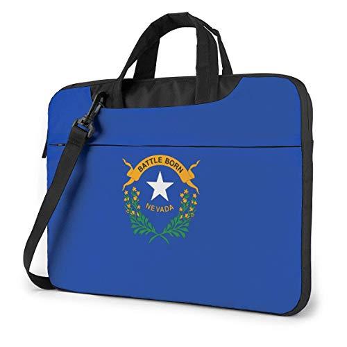Bandera de Nevada Bolsa para portátil Bolso Bandolera Bolso para Ordenador Maletín Bolso Bandolera Inclinado