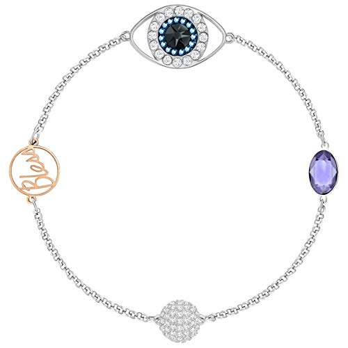 Swarovski Remix Collection Eye Symbol Armband, lila, gemischt Auflage, 5365749