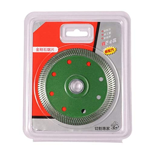GYW-YW Saw Blade, Baldosas de Granito Turbo Diamante Sierra de mármol de Corte Pieza cerámica F1CD Herramienta (Color : As Shown)