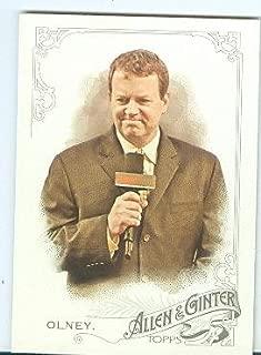 Buster Olney trading card (ESPN Baseball Tonight) 2015 Topps Allen Ginters #34
