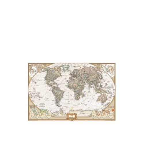 Wallpops Self Adhesive Kids World Map