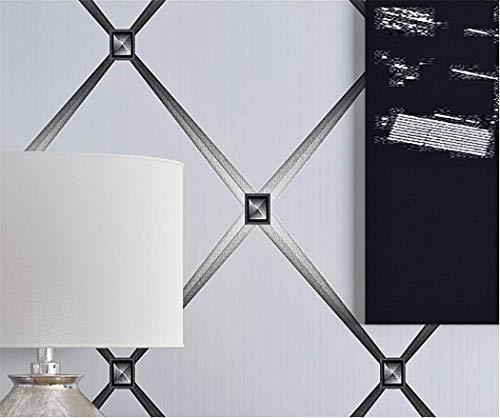 Vlies Tapete Tapeten 3D Stereoskopische Raute Wallpaper Moderne Einfache Wohnzimmer Tv Und Tv Hintergrundbild