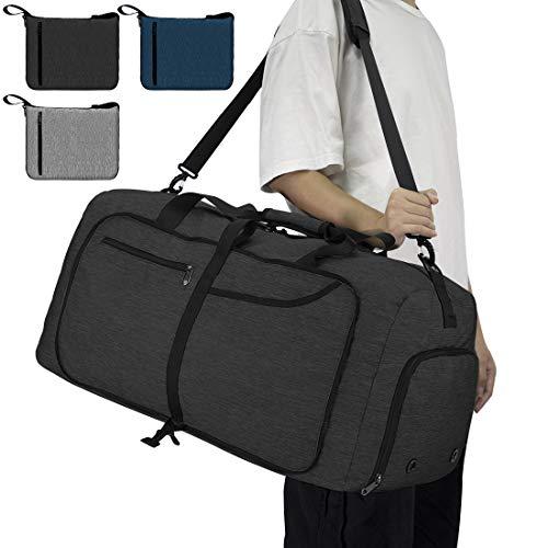 NEWHEY Foldable Travel Duffle Ba...