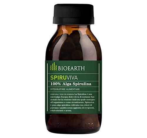 Bioearth International 51124 Spiruviva, 540 Compresse