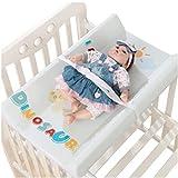 Table à langer Station de couches pliante pour les petits espaces, Pépinière portable avec des sangles de sécurité, Commode de massage pour bébé pour la maison et les voyages