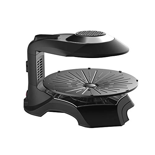 SISHUINIANHUA Elektro-Grill-Ofen 3D-Touch-Screen-intelligenter elektrischer Ofen Smokeless Barbecue Grill Maschine Non Stick Pan BBQ Grill