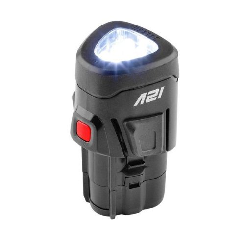 Nextec 12 Volt Compact Lithium-ion Lighted Rechargeable Battery (Battery w/ Integrated Work Light)