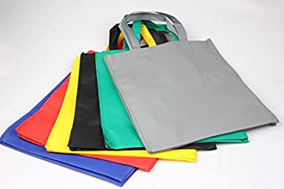 BDS - Non-Woven Reusable Eco Carrying Shopping Grocery Tote Bag - Various Color Available