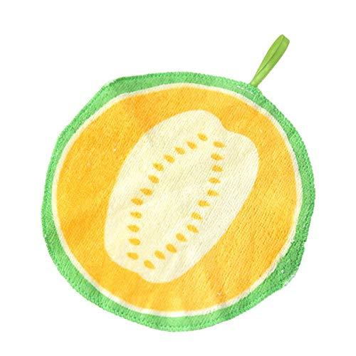 20cm Ronda De Algodón Toalla De Mano De Cocina Fruta Limpiar Paño De Cocina Colgando Toallas De Cocina Lavabo De Limpieza De La Cocina De La Herramienta De Limpieza De