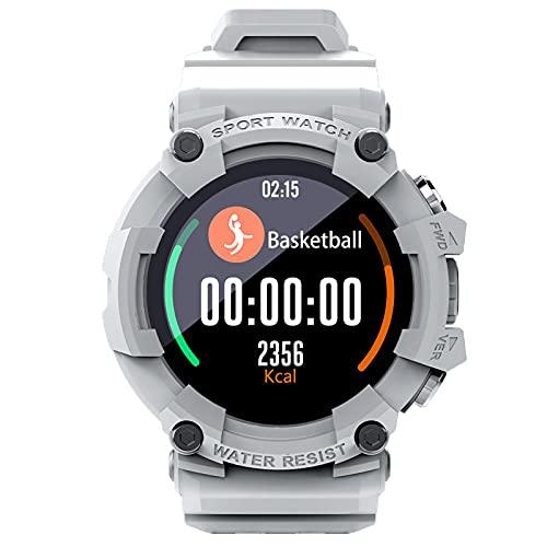 balikha Sport Smartwatch 3 Modo Deportivo Configuración SOS para Deportes Correr Baloncesto - Gris Plateado