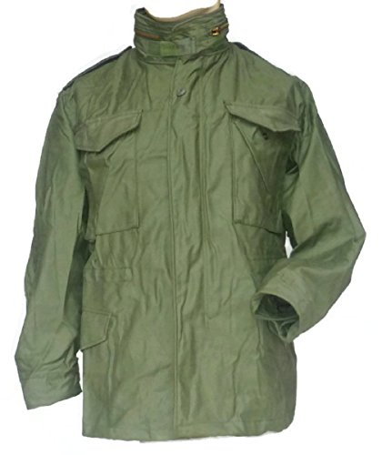 B.G. Colton Co. Inc., USA M65 Army Field - Chaqueta para hombre y mujer (talla extra pequeña, regulable), color verde oliva
