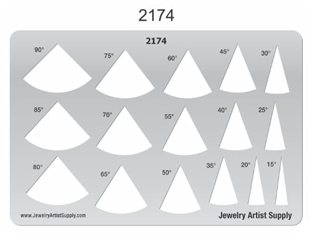 Creative Shapes Template - Fans 2174
