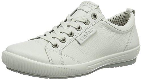 Legero Damen Tanaro Sneaker, Weiß (Weiß 50), 41.5 EU (7.5 UK)