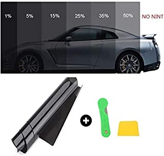 livello di oscurazione 1/% 5/% 15/% 25/% 35/% 76 cm x 6 m Pannow Pellicola per finestrini auto
