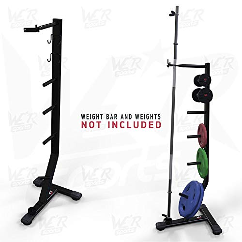 We R Sports Dumbbell, Plates & Bar Weights Storage Rack Stand Holder Home Weight