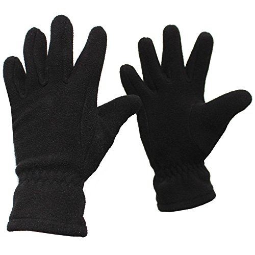 Cox Swain Fleece Handschuhe Pike, Colour: Black, Size: L