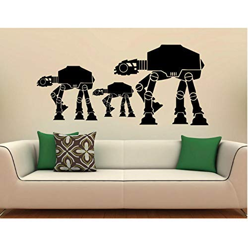Walkers At-At Wall Decal Vinyl Stickers Star Wars Home Interior Art Design...