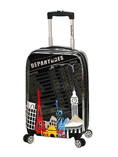 Rockland Departure Hardside Spinner Wheel Luggage Set, Carry-On 20-Inch
