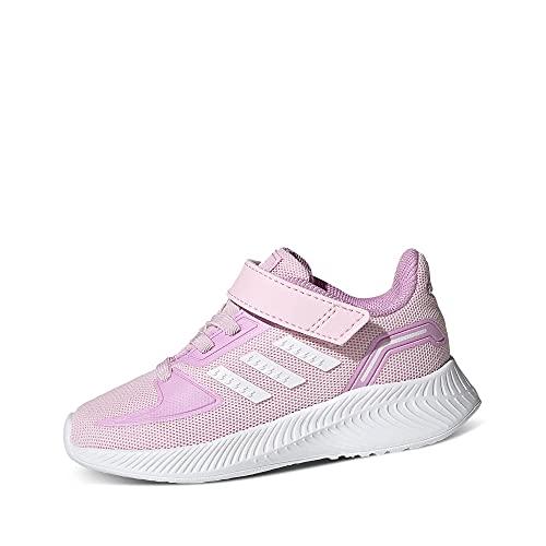 adidas RUNFALCON 2.0 I, Zapatillas, Clear Pink/FTWR White/Clear Lilac, 26 EU