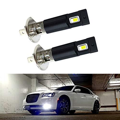 Hxfang 2x 1500lm H8 H11 LED luces de niebla Bombilla 9006 HB4 H1 H7 12V 24V Coche DRL Lámpara Luces externas Ajuste para Mercedes Benz W203 W211 W204 W210 Ahora caliente ( Socket Type : H11 )