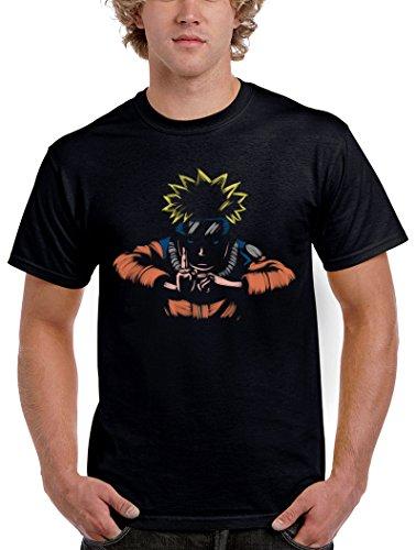 Camisetas La Colmena 1578-Camiseta Naruto - Kage Busin No Jutsu (Legendary P,)