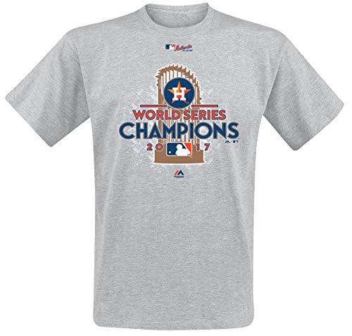 MLB Houston Astros Camiseta Gris/Melé L