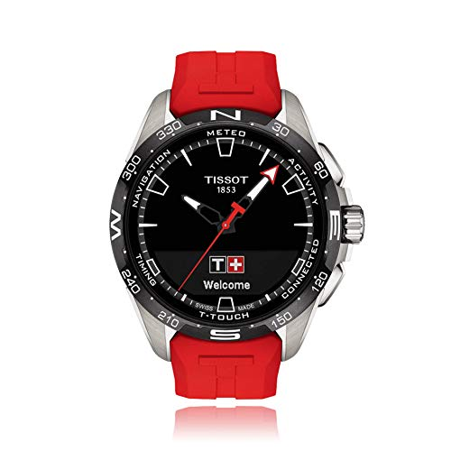 Tissot Herren-Uhren Analog, digital Quarz One Size Rot 32015114