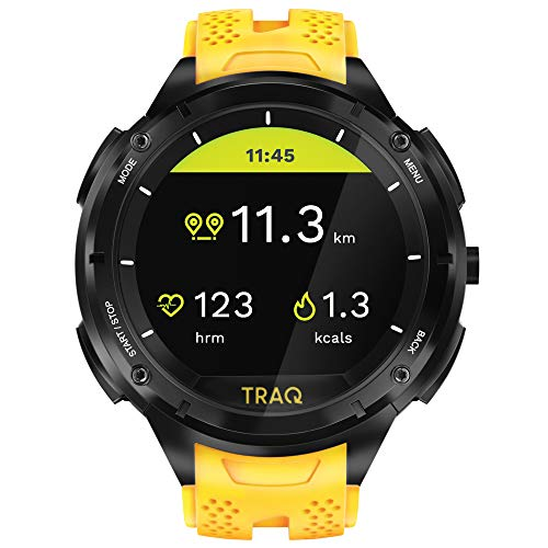 Traq Cardio Digital Clear Dial Unisex-Adult Watch-75001PP03