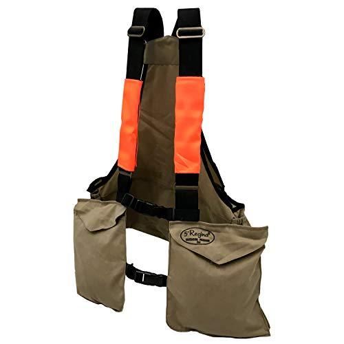 """Fratelli ditalia Trisacca arancio portabottiglia caccia tasche resistente abrasioni carniere Colore Beige Taglia M""""MEDIUM"""""""