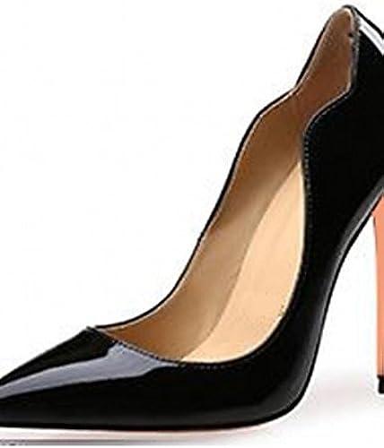 BGYHU Ggx femme Chaussures en microfibre P Fall talons talons Mariage bureau & carrière Party & Soirée robe décontracté
