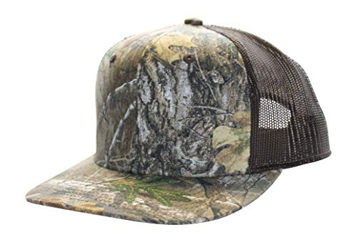 Realtree Camo Trucker Cap Hat Meshback Snapback with Wicking...