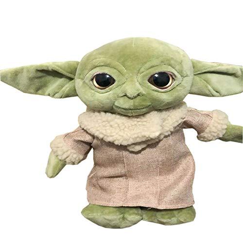 LoneFox The Mandalorian Baby Yoda Juguetes de Peluche muñecos de Peluche Suaves 30 cm