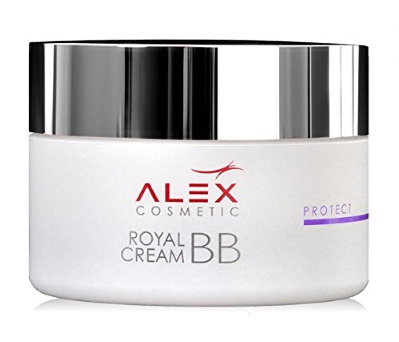 コンデンサー剥ぎ取る役に立たないRoyal Bb Cream Jar, 50ml By Alex Cosmetic by Alex Cosmetic [並行輸入品]