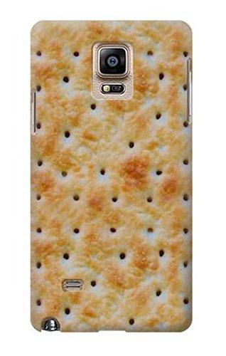 Innovedesire Cream Cracker Biscuits Funda Carcasa Case para Samsung Galaxy Note 4