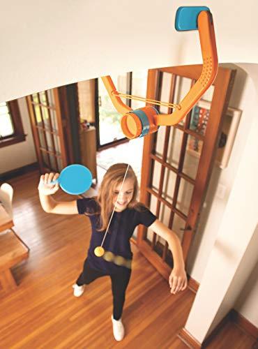 Door Pong is a really fun indoor toy for active kids