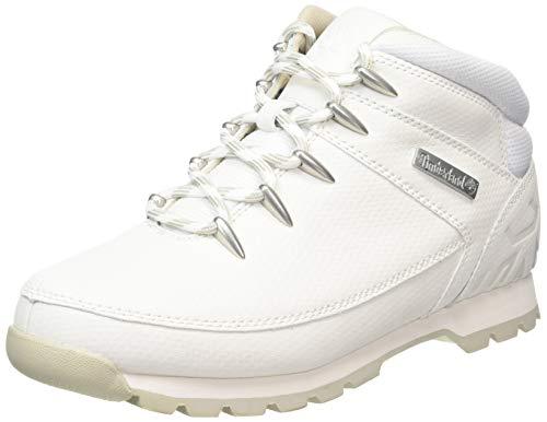 Timberland Herren Euro Sprint Hiker Chukka Boots, Weiß (White TecTuff), 43.5 EU