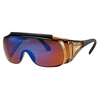 SWANS(スワンズ) サングラス メガネの上からかける オーバーグラス OG2-1004 BL ブルー