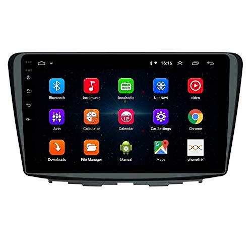 Autoform Maruti Suzuki Baleno 9 Inch Touchscreen Android Car Stereo 2GB RAM 16GB Internal Memory with Inbuilt GPS Navigation WiFi Mirrorlink Bluetooth USB Google Playstore YouTube