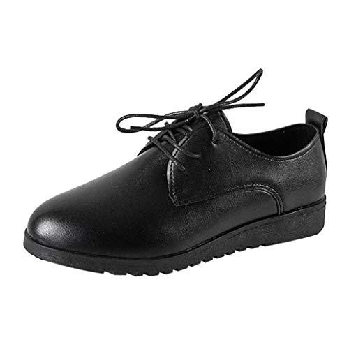 Covermason Zapatos Zapatillas mujer, planos de cuero planos cómodos de las mujeres