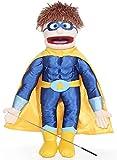 "25"" Superhero, Peach Boy, Full Body, Ventriloquist Style Puppet"