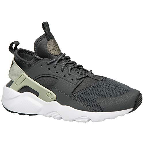 Nike Air Huarache Run Ultra GS, Zapatillas de Atletismo para Mujer, Multicolor (Anthracite/Mtlc Pewter/Spruce Aura/Black 015), 36.5 EU