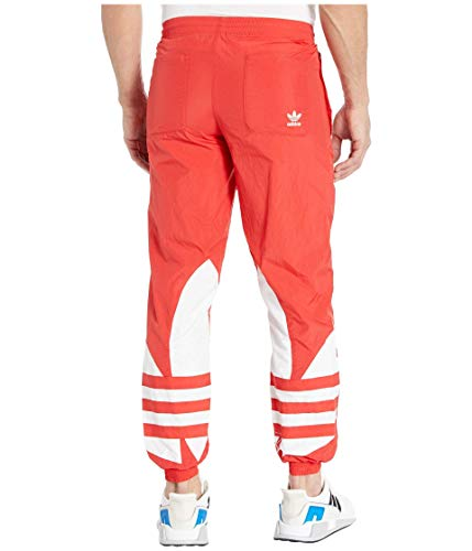 adidas Originals Men's Big Trefoil Track Pants, Lush Red, XS