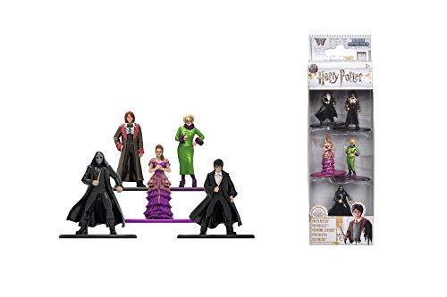 Dickie Toys 253180003 5-Pack, Die-Cast Nano, Set, Figuren, Harry Potter Sammelfiguren, Mehrfarbig